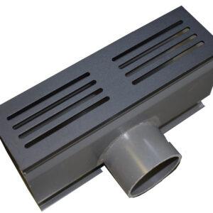 Ultra drain Blackline zij-afvoer