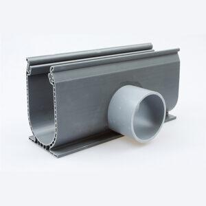 Ultra drain silverline zijafvoer