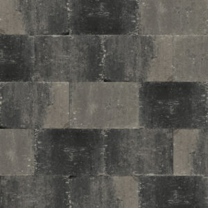 abbeystone 20x30x6 grijs/zwart