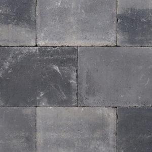 Abbeystone 30x40x6 grijs/zwart