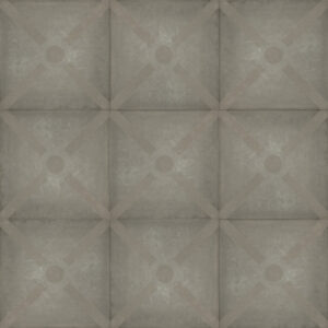 Optimum decora 60x60x4 silver bow