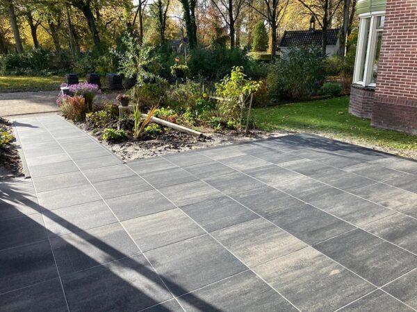 terrastegel+-60x60x4-grijs/zwart