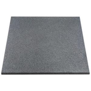 rubber tegels 50x50x2.5 grijs