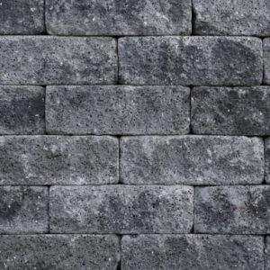 Splitrock_11x13x32cm_grijs-zwart_Getrommeld