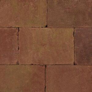 Trommelsteen_20x30x5cm_Terracotta_Geel