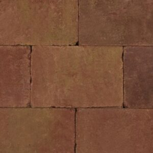 Trommelsteen_20x30x6cm_Terracotta_Geel