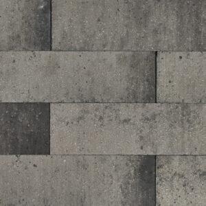 brickline 10x10x60 grijs/zwart
