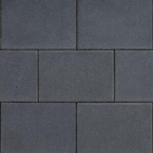 design square 20x30x4 cm black emotion
