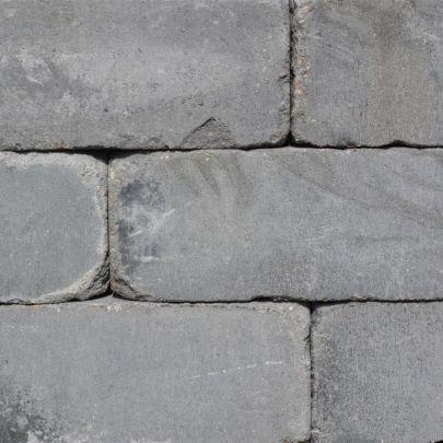 Linea getrommeld 15x15x60 donkergrijs
