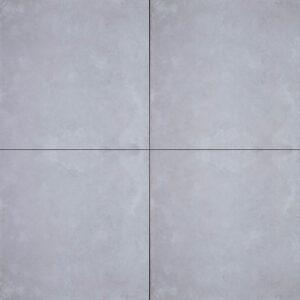 Geoceramica 60x60x4 concreet silver