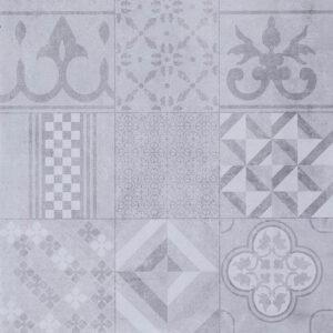 Geoceramica décor 60x60x4 mosaik grey