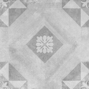 Geoceramica décor 60x60x4 symbol block smoke