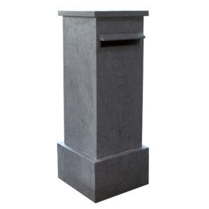 Hardsteen-l-Brievenbus-kolom