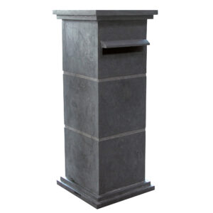 Hardsteen-lV-Brievenbus-kolom